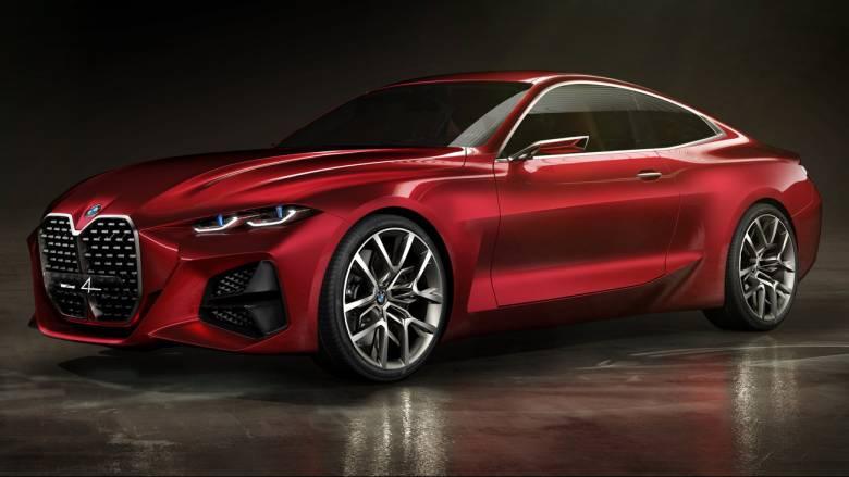 H BMW Concept 4 προλογίζει το κουπέ της νέας σειράς 4 που αναμένεται του χρόνου