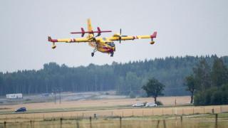 Πολύ υψηλός κίνδυνος πυρκαγιάς και για αύριο σε οκτώ περιφέρειες