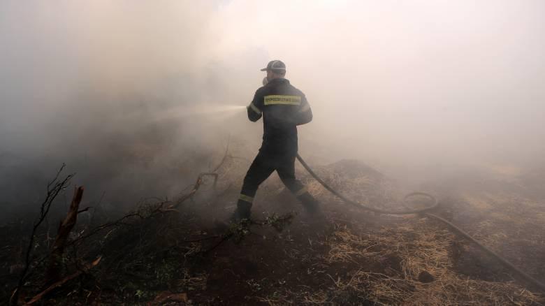 «Μάχη» της Πυροσβεστικής σε δύο μέτωπα