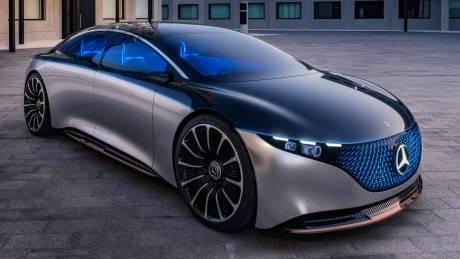 Η Mercedes Vision EQS δείχνει πώς θα είναι οι πολυτελείς ηλεκτρικές λιμουζίνες του μέλλοντος