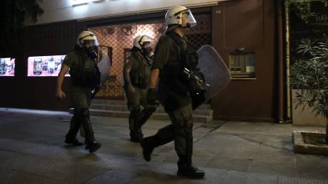 Συλλήψεις και προσαγωγές για τα επεισόδια στα Εξάρχεια