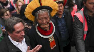 Αμαζόνιος: Ο ιθαγενής αρχηγός Ραονί υποψήφιος για το Νόμπελ Ειρήνης