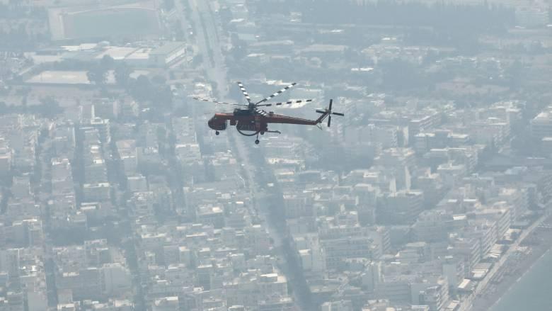 Φωτιά στο Λουτράκι: Σε ποια σημεία διεκόπη η κυκλοφορία των οχημάτων