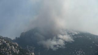 Φωτιά στη Ζάκυνθο: Δορυφόρος «είδε» τον καπνό από ψηλά