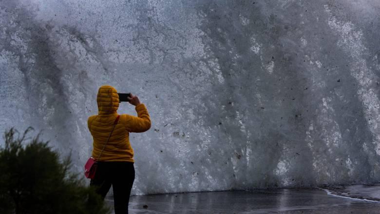 Καιρός: Ενισχυμένοι βοριάδες στο Αιγαίο τη Δευτέρα