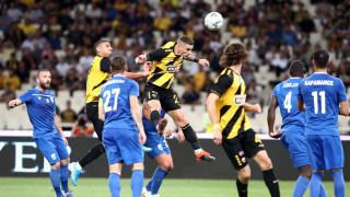 ΑΕΚ - Λαμία 2-0: «Καθάρισε» και συνεχίζει