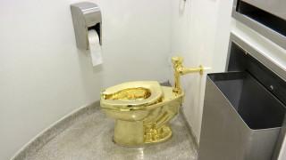 «Ελπίζω να το έκαναν για καλό σκοπό»: Η αντίδραση του δημιουργού της κλεμένης χρυσής τουαλέτας