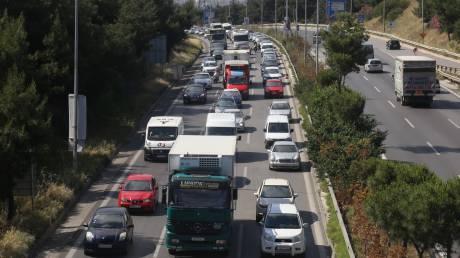 Γαλάτσι: Κυκλοφοριακό «χάος» - Έσπασε αγωγός ύδρευσης