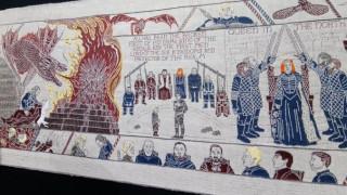 Game of Thrones: Η ιστορία του σε μια εντυπωσιακή ταπετσαρία, στο στιλ της ταπετσαρίας του Μπαγιέ