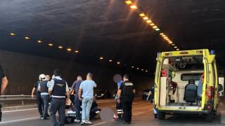 Θεσσαλονίκη: Άνδρας αυτοκτόνησε από γέφυρα και έπεσε πάνω σε μοτοσικλετιστή