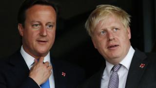 Ντέιβιντ Κάμερον: Ο Μπόρις Τζόνσον πίστευε ότι το Brexit θα συντριβεί