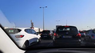 Κυκλοφοριακό «έμφραγμα»: Ουρές χιλιομέτρων στην Εθνική Οδό Αθηνών-Λαμίας
