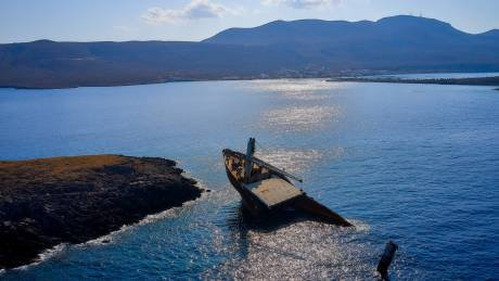 Τουριστικός «θησαυρός»: Το κουφάρι του πλοίου «Nordland» στα Κύθηρα πόλος έλξης για δύτες