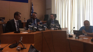Συνάντηση Χ. Θεοχάρη με περιφερειάρχη Δ. Ελλάδος στην Πάτρα