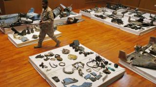 Συντρίμμια πυραύλων και drones: Η Σαουδική Αραβία παρουσίασε στοιχεία και «δείχνει» το Ιράν πίσω από την επίθεση (pics)