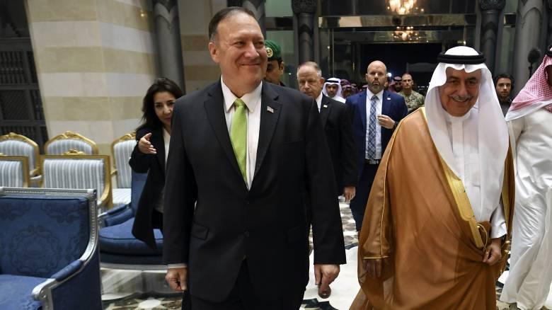 Πομπέο: «Πράξη πολέμου» η επίθεση στη Σαουδική Αραβία