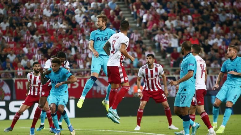 Ολυμπιακός - Τότεναμ 2-2: Πιέστηκε αλλά στάθηκε στο ύψος του... Champions League