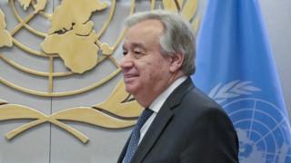 Κυπριακό: Ελπίδα Γκουτέρες να ξεκινήσουν ουσιαστικές διαπραγματεύσεις