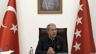 Ο Τούρκος υπ. Άμυνας απειλεί την Κύπρο με νέα εισβολή