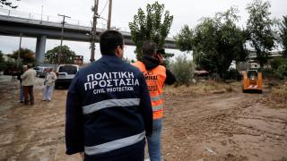 Εικόνες καταστροφής στη Θεσσαλονίκη μετά τη νεροποντή