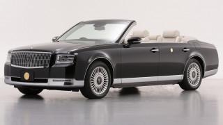 Αυτοκίνητο: To Toyota Century Convertible είναι το αυτοκίνητο της στέψης του Ιάπωνα αυτοκράτορα