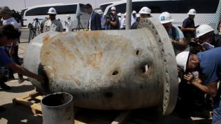 Λιωμένοι σωλήνες και καμένος εξοπλισμός: Εικόνες από τις πετρελαϊκές εγκαταστάσεις στη Σ. Αραβία