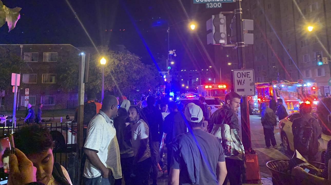 Δύο περιστατικά με πυροβολισμούς στην Ουάσινγκτον με δύο νεκρούς