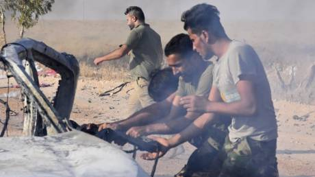 Συρία: Καταρρίφθηκε drone που έφερε βόμβες διασποράς
