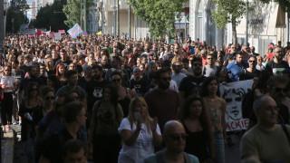 Μεγάλη διαδήλωση για τον Ζακ Κωστόπουλο
