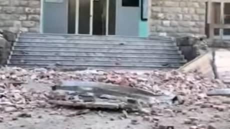 Σοβαρές υλικές ζημιές στην Αλβανία από τους σεισμούς
