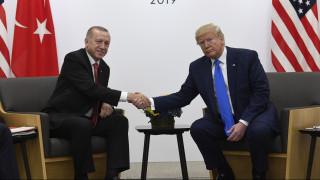 Τηλεφωνική επικοινωνία Τραμπ – Ερντογάν