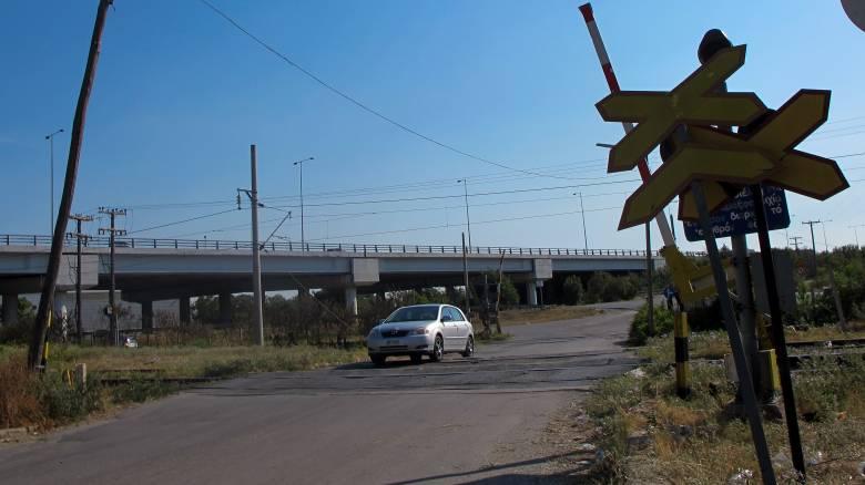 Βόλος: Σύγκρουση τρένου με αυτοκίνητο