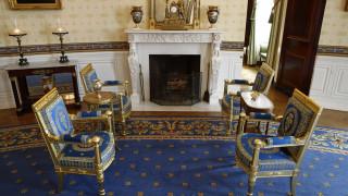 Λευκός Οίκος: Η Μελάνια Τραμπ έβαλε τη -χρυσή- πινελιά της ανακαινίζοντας το ιστορικό κτήριο