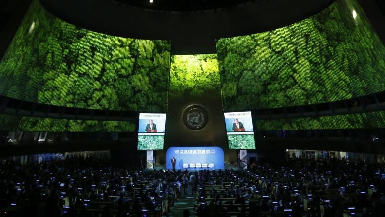 ΟΗΕ: 66 χώρες προσχώρησαν στον στόχο για μηδενικές εκπομπές άνθρακα μέχρι το 2050
