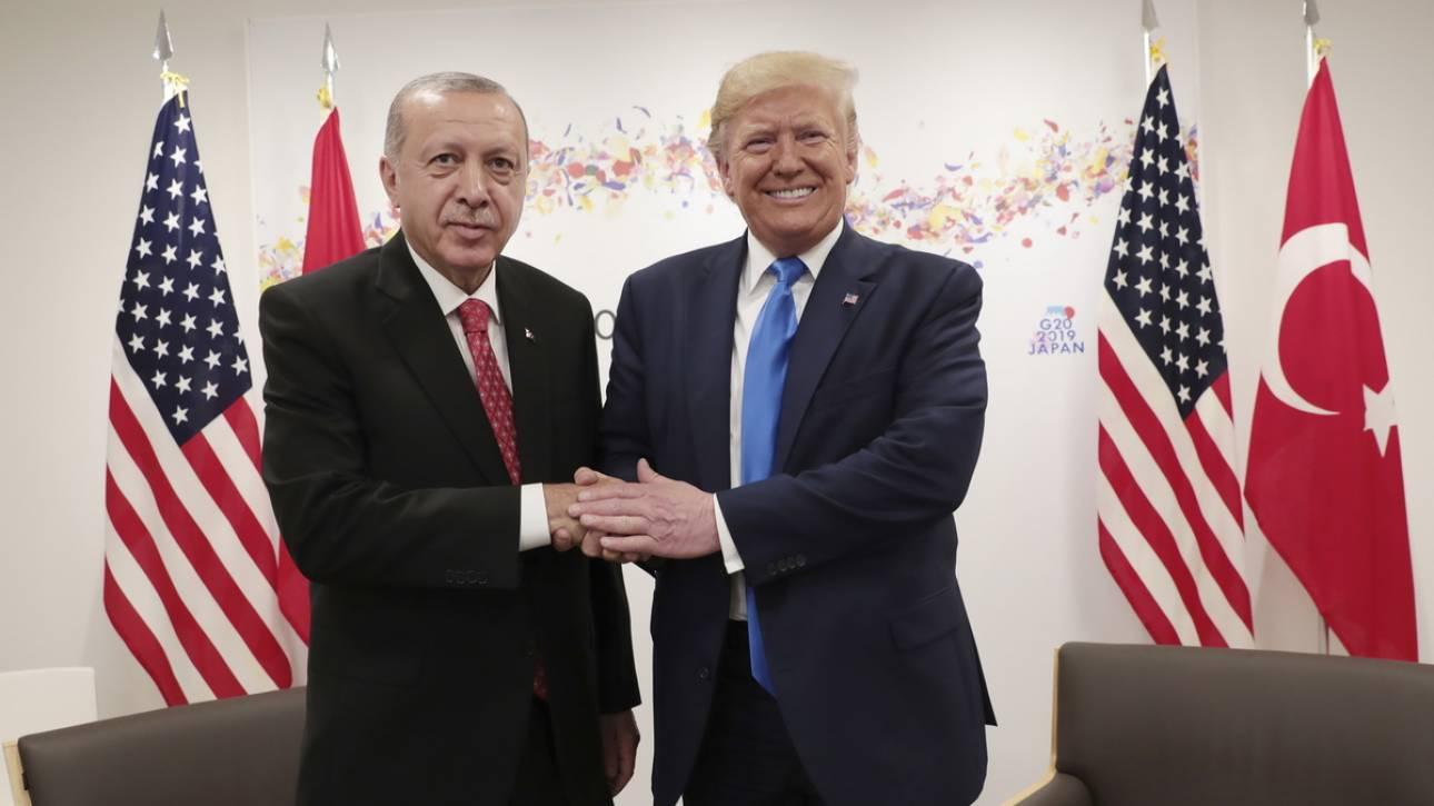 Τραμπ: Φίλος μου ο Ερντογάν, ευχαριστώ για την απελευθέρωση του πάστορα Μπράνσον