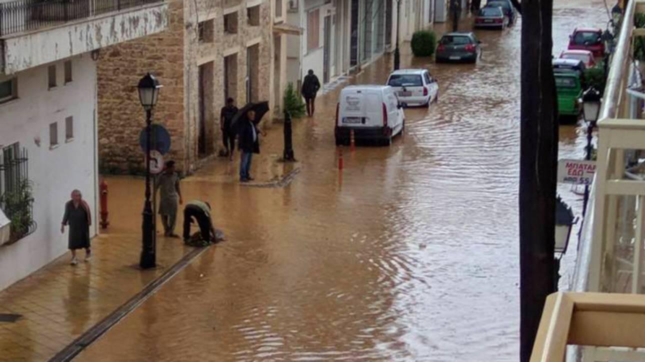 «Σαρώνει» η κακοκαιρία:Πλημμύρες & ένας νεκρός στην Ηλεία–«Βούλιαξε» στη λάσπη χωριό της Κεφαλονιάς