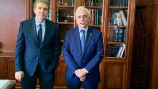 Συνάντηση Προέδρου Ε.Ε.Σ. με τον Υπουργό Προστασίας του Πολίτη