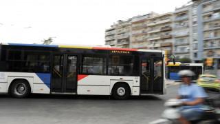 Θεσσαλονίκη: Λεωφορείο του ΟΑΣΘ συγκρούστηκε αυτοκίνητο - Ένας τραυματίας