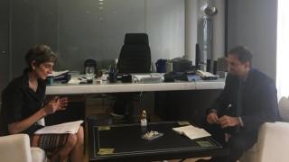 Συνάντηση Χ. Θεοχάρη με πρέσβη Μεγάλης Βρετανίας στην Ελλάδα