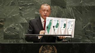 Ερντογάν από ΟΗΕ: Δεν έχουμε πρόοδο στο Κυπριακό λόγω της στάσης των Ελληνοκύπριων