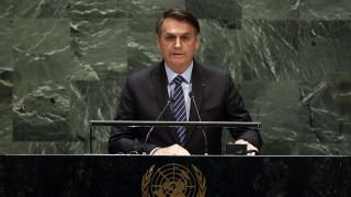 Μπολσονάρου από ΟΗΕ: Ο Αμαζόνιος δεν καταστρέφεται από τις πυρκαγιές, είναι ψέματα