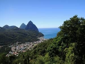 Αγία Λουκία, Καραϊβική