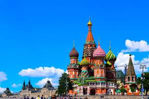 Μόσχα: Μη χάσετε την ευκαιρία για μια φθινοπωρινή επίσκεψη στην ρωσική πρωτεύουσα. Πολλά πρώην ανάκτορα έχουν μετατραπεί σε δημόσια πάρκα και η θέα των ανθισμένων δέντρων είναι απλά μαγευτική.