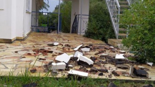 Ανεμοστρόβιλος «σάρωσε» την Αμαλιάδα προκαλώντας ζημιές
