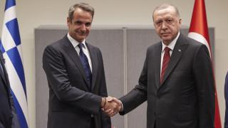 Μητσοτάκης: Είχαμε μια ειλικρινή συζήτηση με τον πρόεδρο Ερντογάν