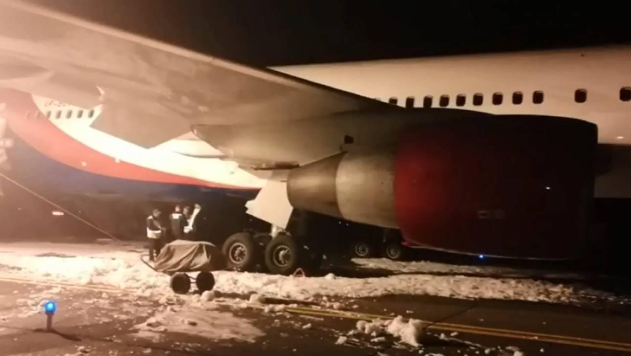 Ανώμαλη προσγείωση αεροσκάφους στη Σιβηρία με τραυματισμούς