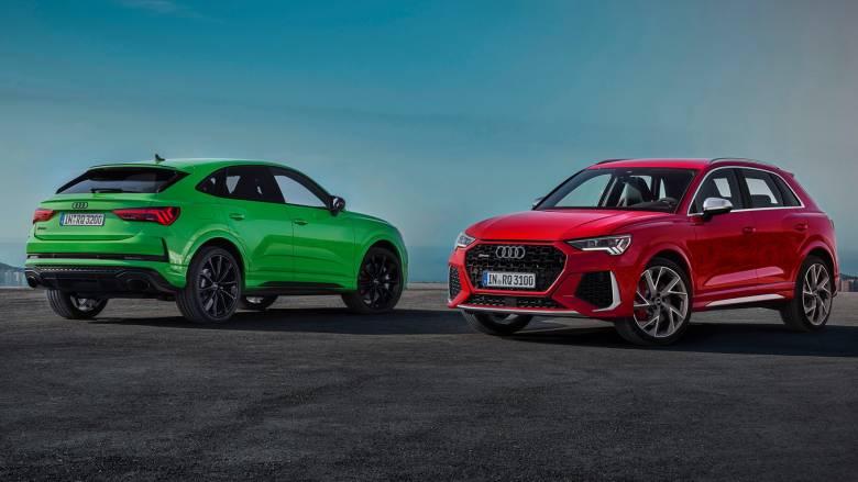 Αυτοκίνητο: Τα Audi Q3 και Q3 Sportback απέκτησαν κορυφαίες σπορ εκδόσεις RS Q3 με 400 ίππους