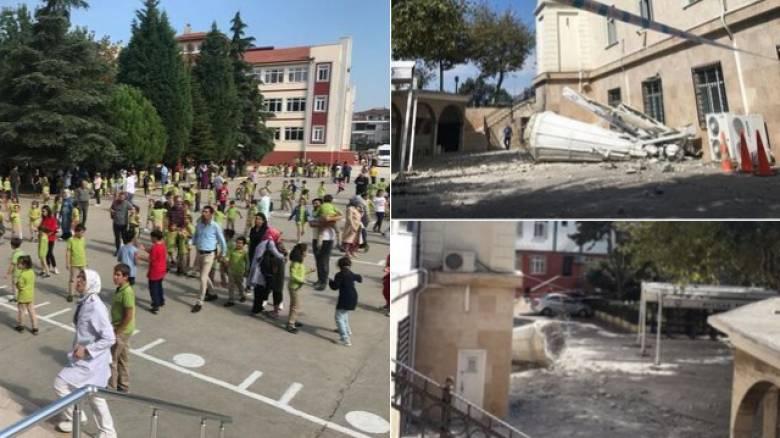 Σεισμός Τουρκία: Ζημιές και σκηνές πανικού με την ισχυρή δόνηση