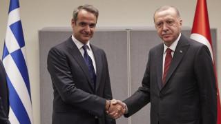 Μητσοτάκης για Ερντογάν: Πολύ καλό το κλίμα - Αποδίδω σημασία στις διαπροσωπικές σχέσεις