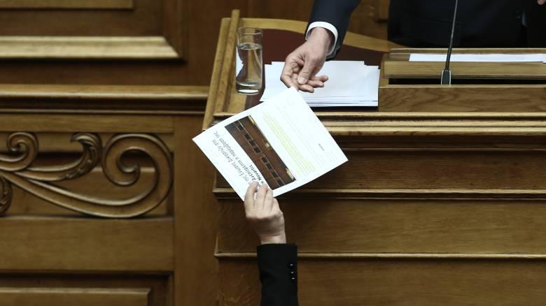 Επικράτησε η «σκληρή» γραμμή της ΝΔ και ο φάκελος Novartis θα εξεταστεί στη Βουλή